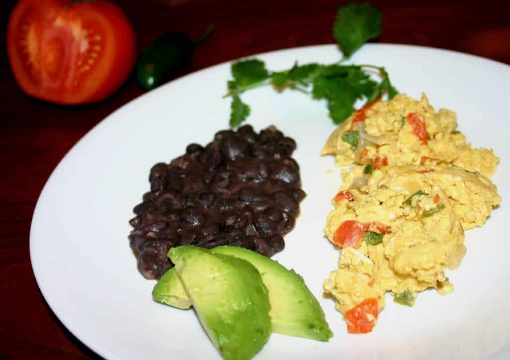 Huevos a la Mexicana - Kitchen Gidget