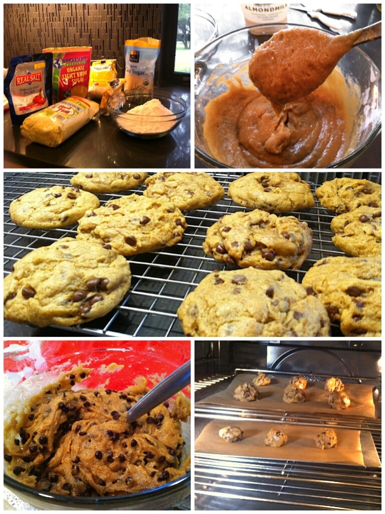 Allergen Free Chocolate Chip Cookies that contain no gluten, soy, dairy or nuts | Kitchen Gidget
