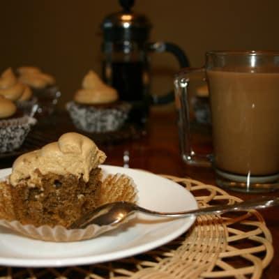 Vietnamese Coffee Cupcakes