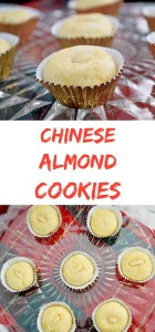 Chinese Almond Cookies - soft, chewy and full of almond flavor! | Kitchen Gidget