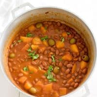Puerto Rican Rice and Beans (Habichuelas Guisadas)