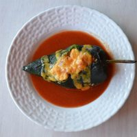 Chiles Rellenos (stuffed w/Tuna & Quinoa)