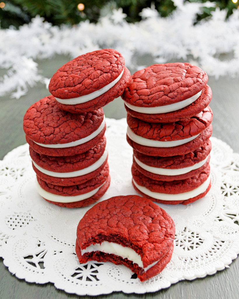 Red Velvet Cake Box Cookies