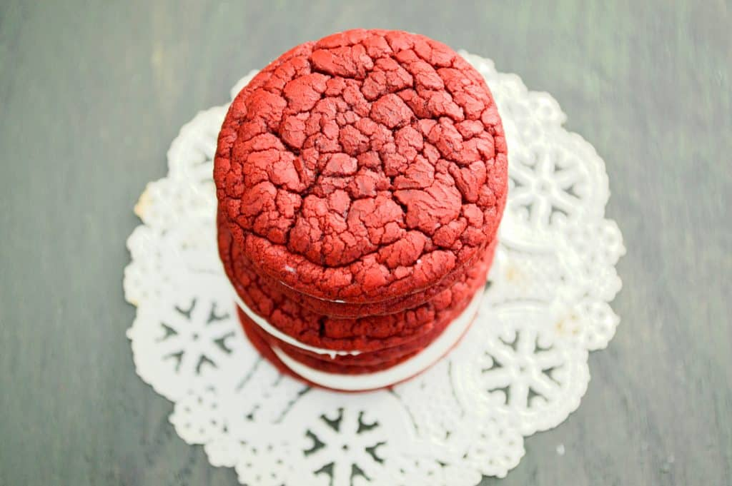 Red Velvet Cookies Kitchen Gidget