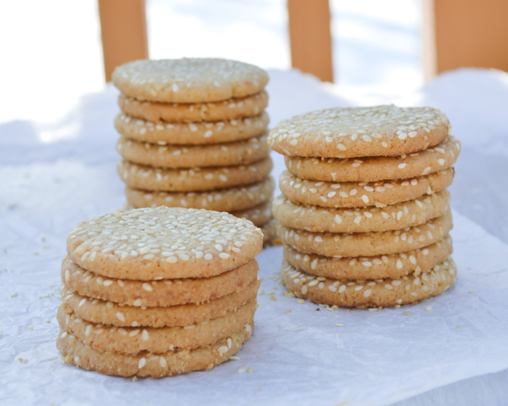 Tahini Cookies - tender, buttery cookies with a nutty, sesame flavor | Kitchen Gidget