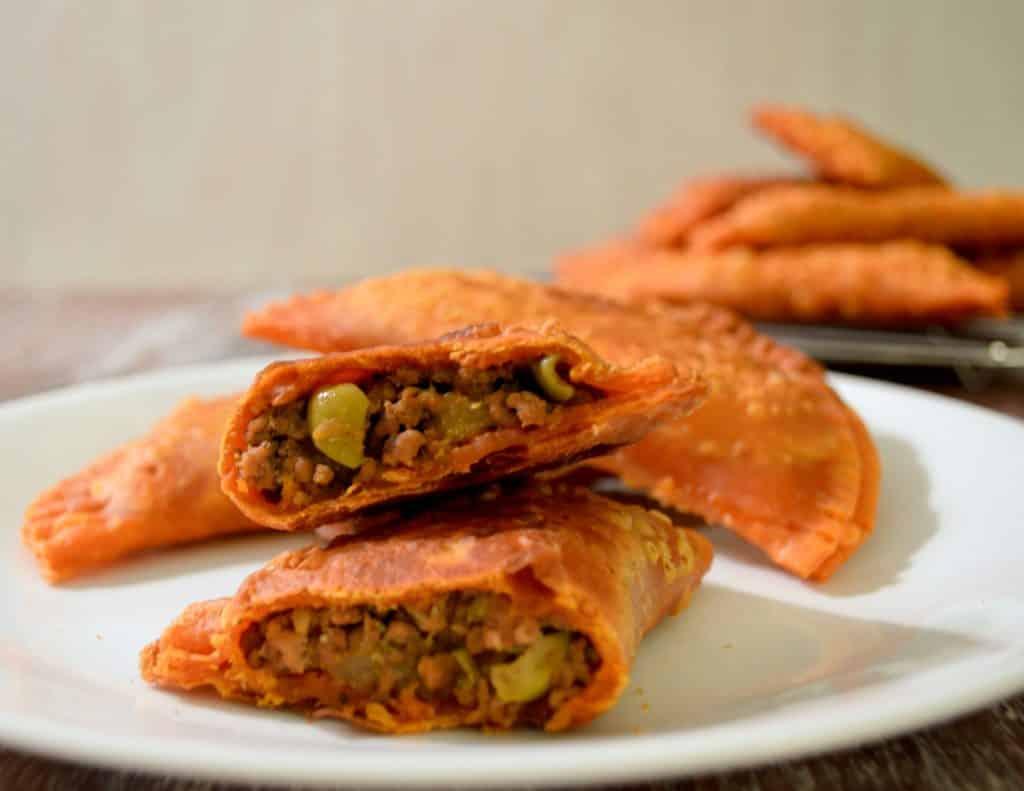 Puerto Rican Picadillo Empanadas