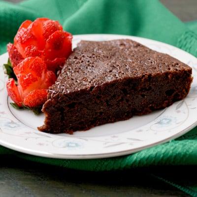 Chocolate Maple Torte (no sugar)