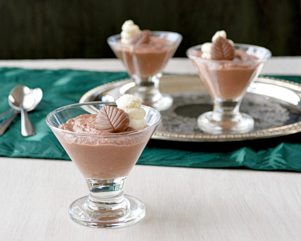 Chocolate Ricotta Mousse | Kitchen Gidget