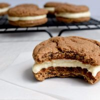Chocolate & Vanilla Malt Cookies