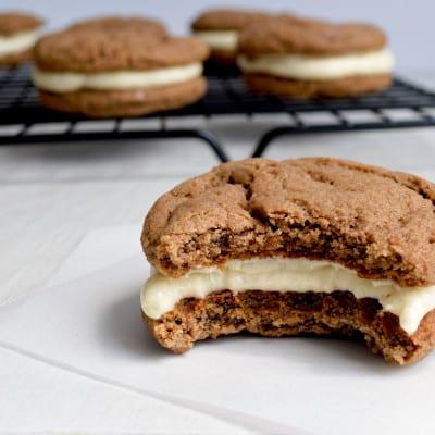 Chocolate & Vanilla Malt Cookies