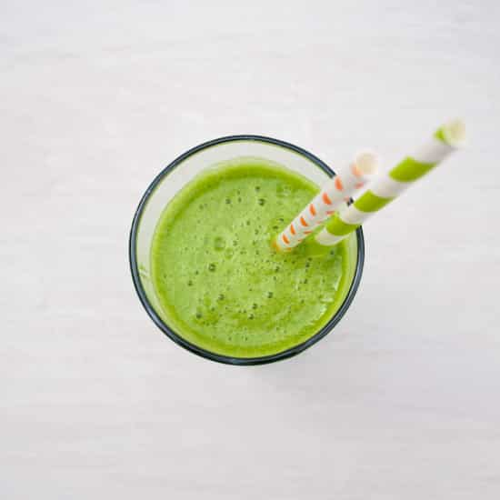 Tropical Green Smoothie | Kitchen Gidget