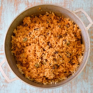 Puerto Rican Rice (Arroz con Gandules)