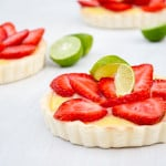 Strawberry Limeade Tarts