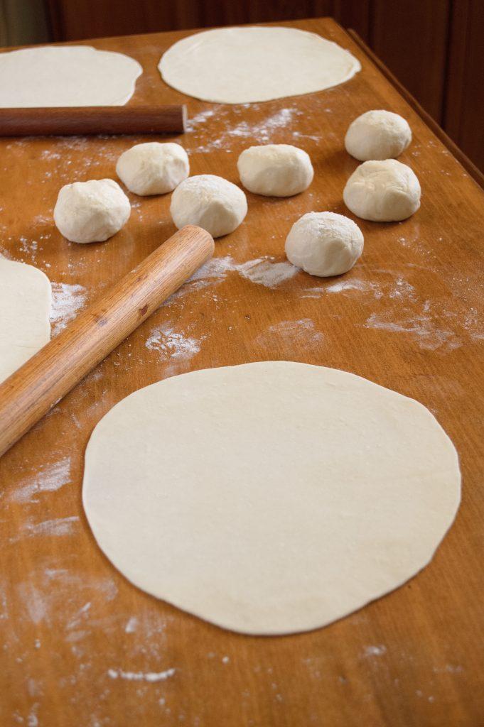 Homemade Flour Tortillas | Kitchen Gidget