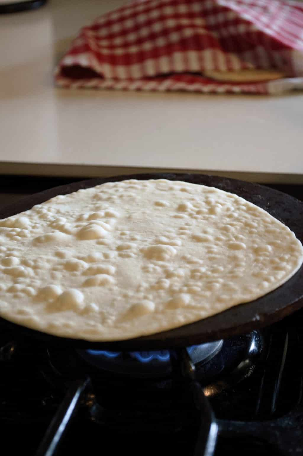 Homemade Flour Tortillas That Melt In Your Mouth