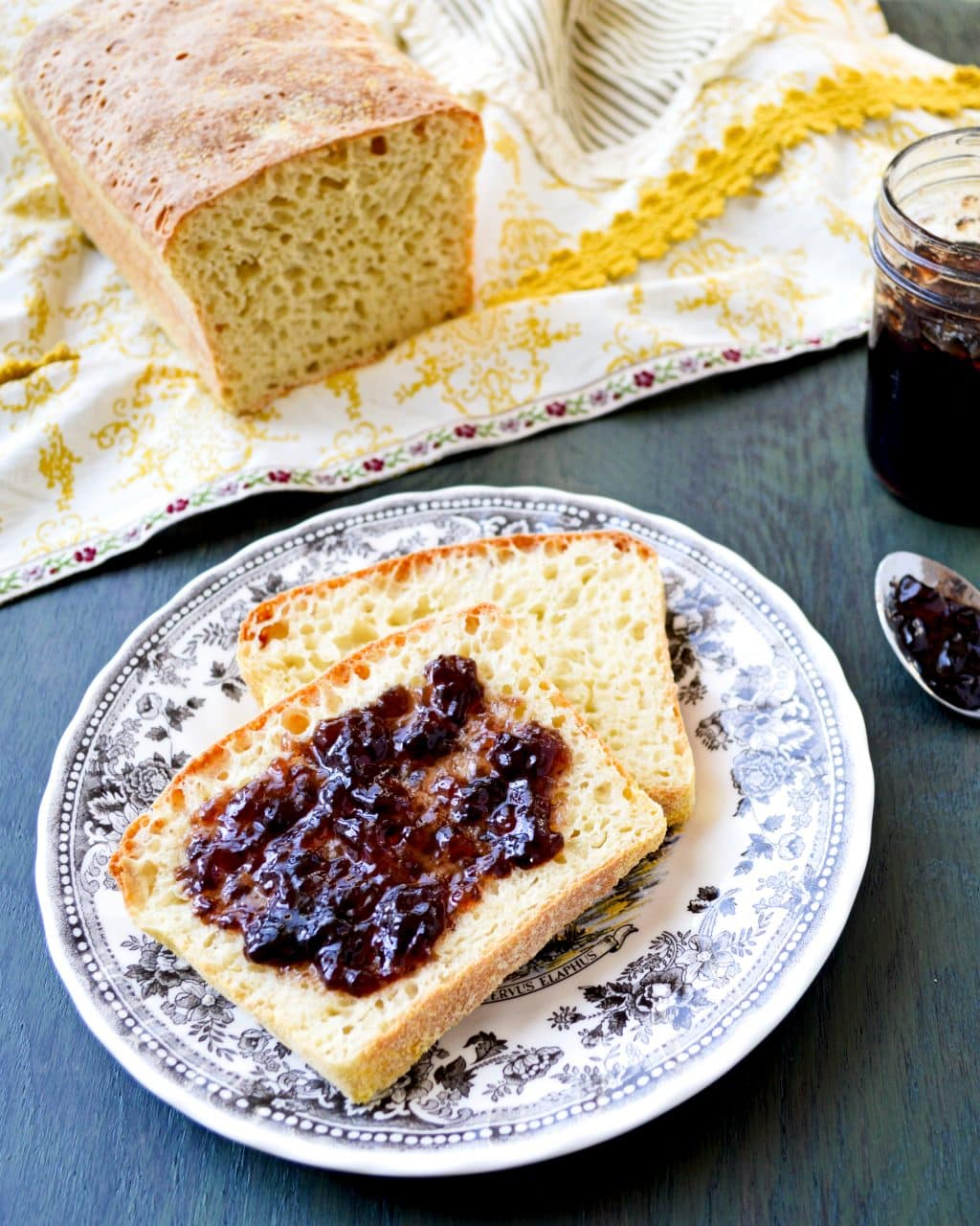 English Muffin Bread   Kitchen Gidget