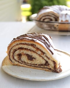 Chocolate Potica (Nut Roll)