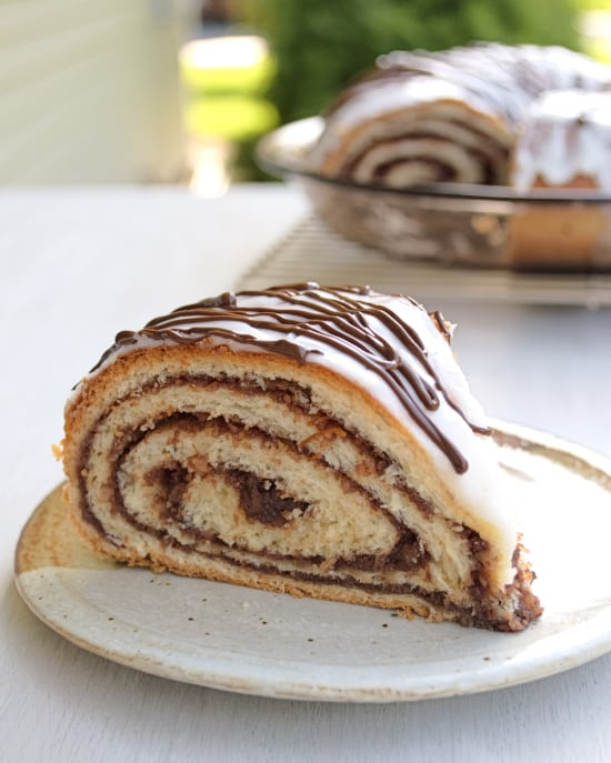 Chocolate Potica (Nut Roll) | Kitchen Gidget