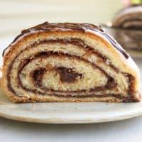 Chocolate Potica (Nut Roll)