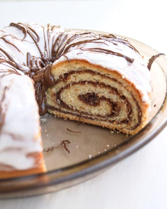 Chocolate Potica (Nut Roll) | Kitchen Gidget