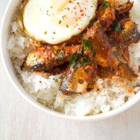 Sardine Rice Bowl