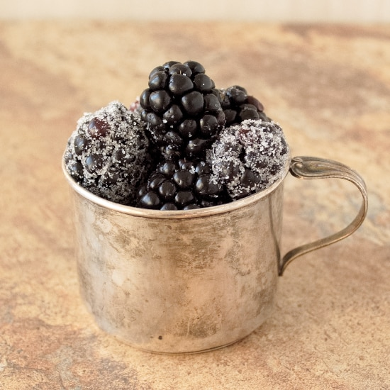 Sugared Blackberries | Kitchen Gidget