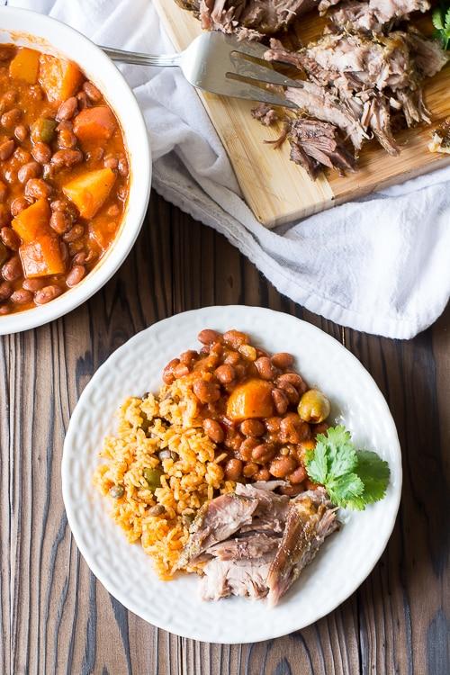 Puerto Rican Pernil (Roast Pork) is crispy, juicy and so full of flavor! The best roast pork I ever had! | Kitchen Gidget