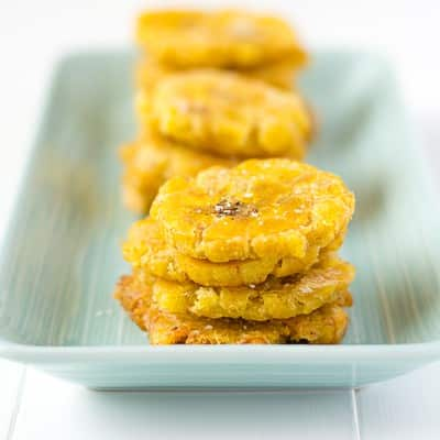 Puerto Rican Tostones – Fried Plantain & MayoKetchup