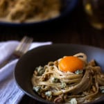 Blue Cheese Walnut Pasta