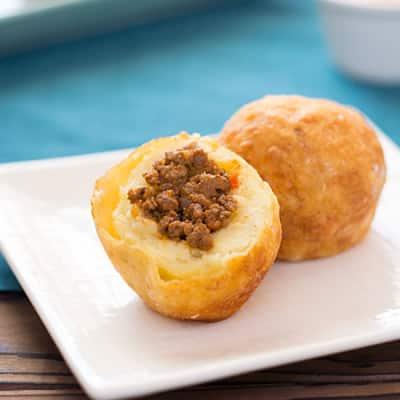 Puerto Rican Papas Rellenas (Stuffed Potatoes)