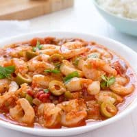 Camarones Guisados (Stewed Shrimp)