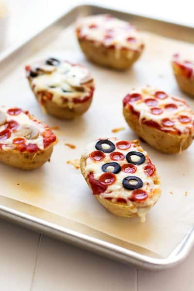 Pizza Baked Potatoes