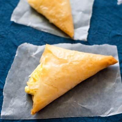 Tiropita: Greek Cheese Pies