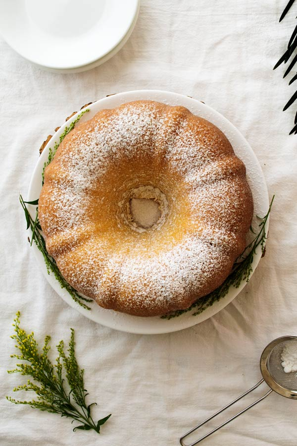 Simple yet stunning cream cheese bundt cake that's easy to make! One bite of this velvety rich dessert and this will be a family favorite for years to come!