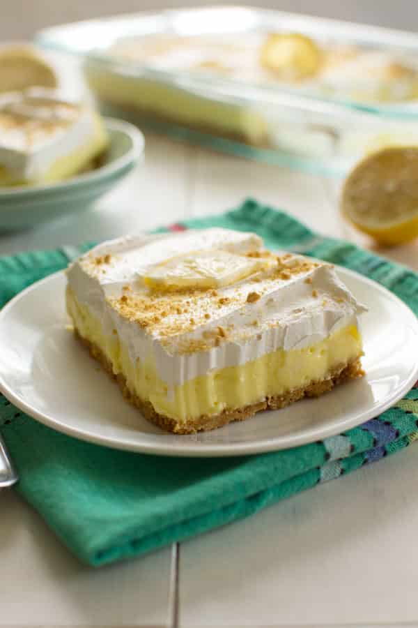 Layered Lemon Delight Cake