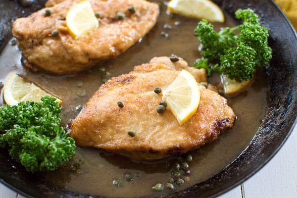 Lemon Chicken Piccata Kitchen Gidget