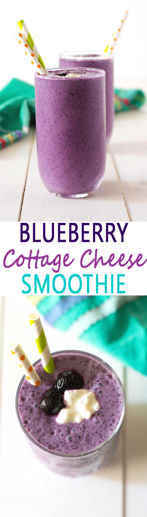 Awe Inspiring Blueberry Cottage Cheese Smoothie Recipe Download Free Architecture Designs Aeocymadebymaigaardcom