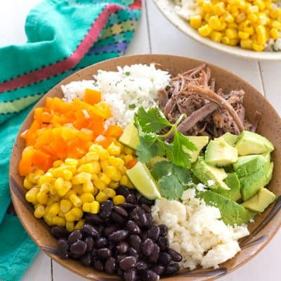 Homemade Burrito Bowl