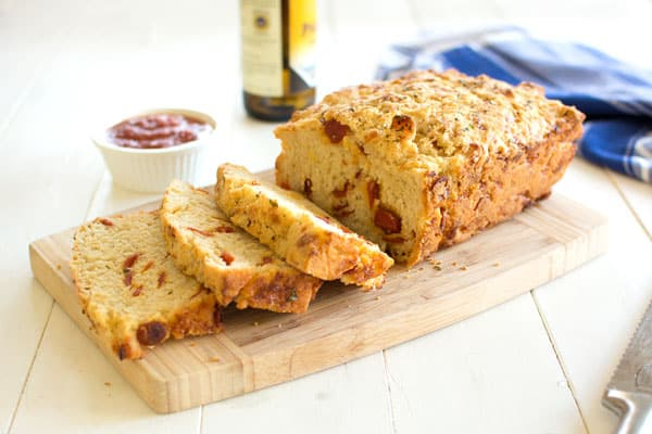 How to make easy pizza beer bread with cheese and pepperoni. Pizza Beer Bread recipe that's insanely delicious!!!