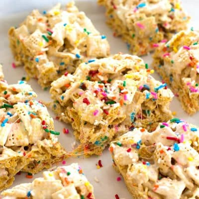 Funfetti Marshmallow Crispy Treats