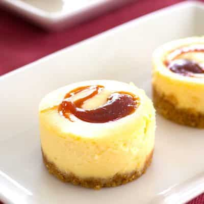 Mini Guava Cheesecakes