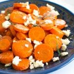 Roasted Carrots with Feta