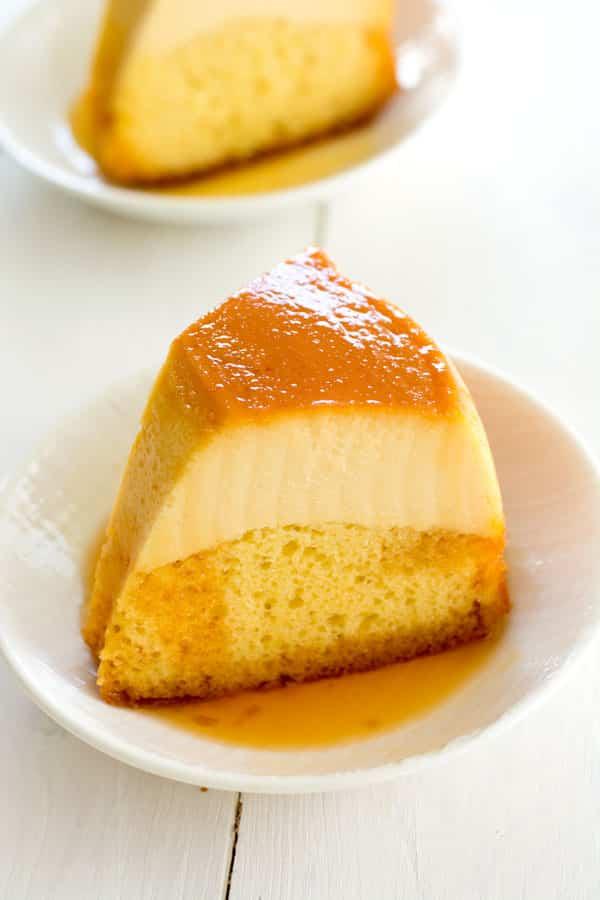 Puerto Rican Flancocho - easy flan cake recipe!