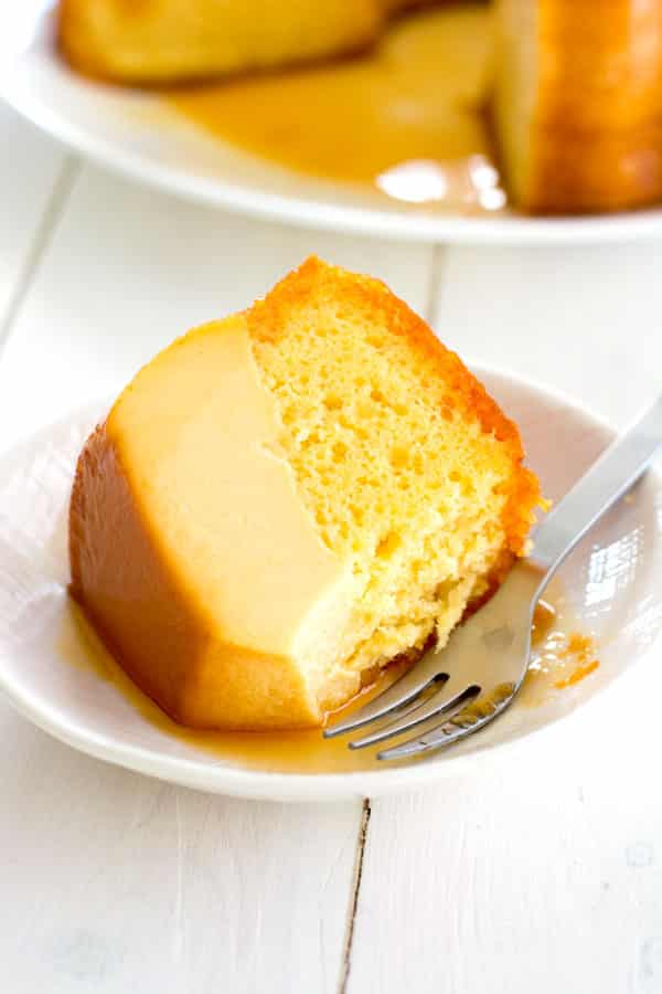 Easy Magic Flan Cake