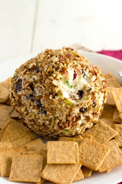 Blue Cheese Cranberry Cheese Ball