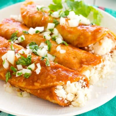 Queso Fresco Enchiladas