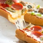 Homemade French Bread Pizza