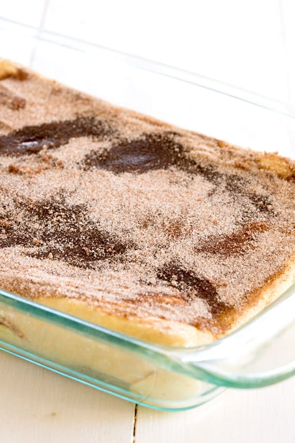 Puff Pastry Sopapilla Cheesecake Bars - this easy recipe takes a favorite Mexican dessert to a whole new level using Puff Pastry!