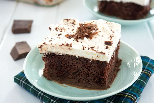 Easy recipe for chocolate tres leches cake