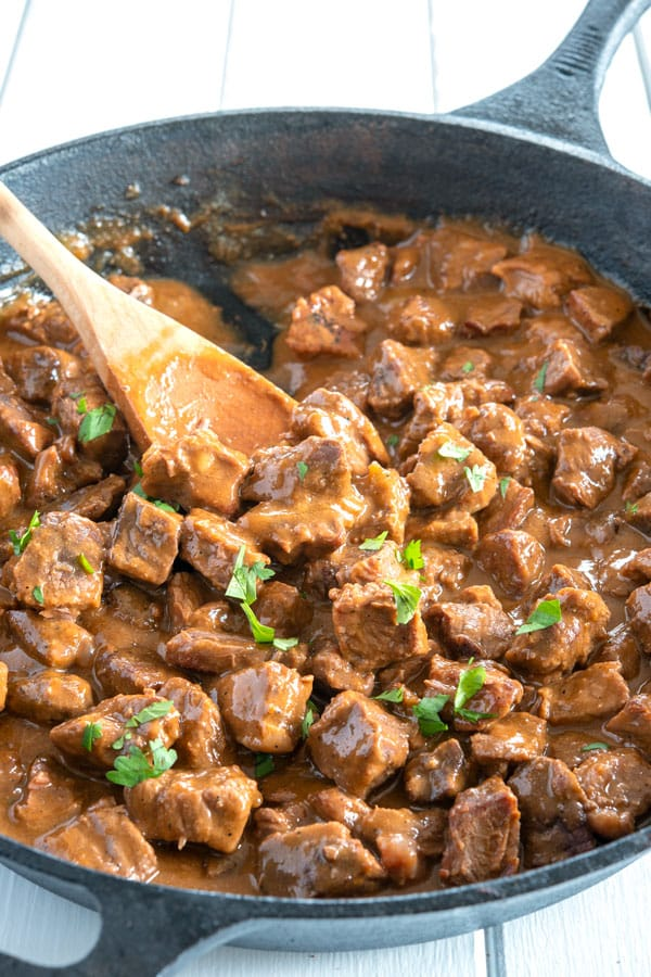 Carne Guisada Recipe (Mexican Style) | Kitchen Gidget